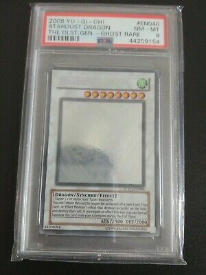 AU620 • Buy Yugioh Stardust Dragon TDGS-EN040 Ghost Rare PSA 8 Unlimited