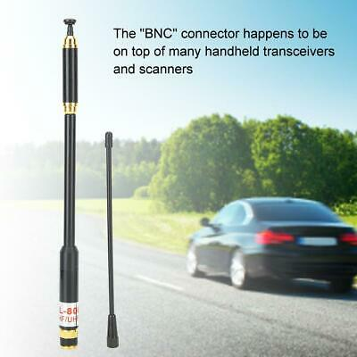 AU17.41 • Buy AL-800 Car Telescopic Antenna VHF/UHF BNC Connector High Gain 3.2/5.6dB 50W