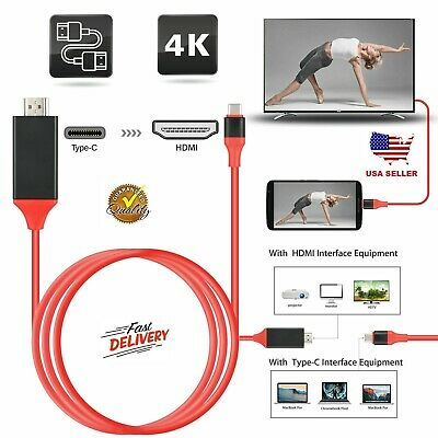 $12.99 • Buy USB-C Type C To HDMI HDTV TV Cable Adapter For Samsung Galaxy S10 Note 9 MacBook