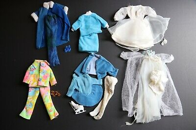 $ CDN10 • Buy Vintage Lot Of 1960's Barbie Outfits Clothes, Unbranded