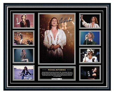 AU99.99 • Buy Michael Hutchence Inxs Kick X Signed Limited Edition Framed Memorabilia