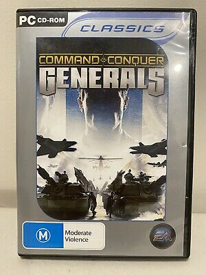 AU22.50 • Buy Command & Conquer: Generals | Windows PC CD Game | Australian Seller | Free Post