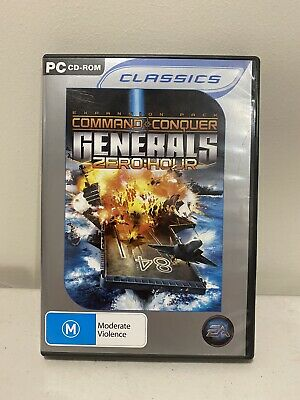 AU22.50 • Buy Command & Conquer Generals Zero Hour Expansion Pack PC Game Discs Like New Sent
