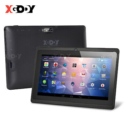 £45.99 • Buy XGODY Cheap Android 9.0 Tablet PC 7 Inch Quad-core WIFI 2xCamera 3+32GB 1024x600