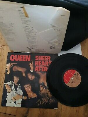 Queen - Sheer Heart Attack (uk 1974 Release  • 9£