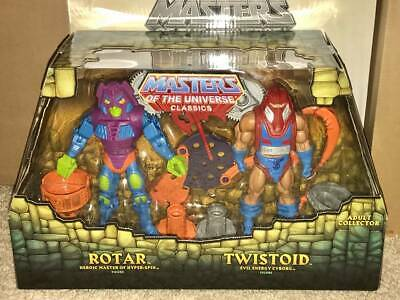 $59.95 • Buy MOTUC Masters Of The Universe Classics Rotar And Twistoid W/ Mailer MISB MOC