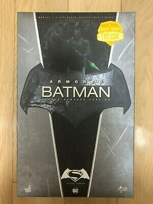 $ CDN590.57 • Buy 🔥 Hot Toys MMS 417 Batman V Superman Armored Batman (Battle Damaged Version)