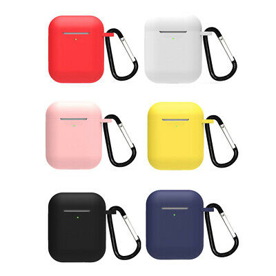 $ CDN2.27 • Buy Bluetooth Headphone Silicone Cover Protective Mini Earphone Case For Airpods 1 2