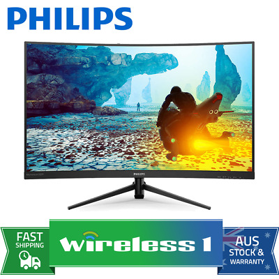 AU405 • Buy Philips 322M8CZ 32in 165Hz Full HD 1ms Curved FreeSync Gaming Monitor