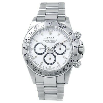 $ CDN30819.26 • Buy Rolex Daytona Stainless Steel Oyster Automatic White Men's Watch 16520