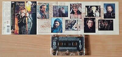 Robin Hood Prince Of Thieves 'original Motion Picture Soundtrack' Uk Cassette • 3£