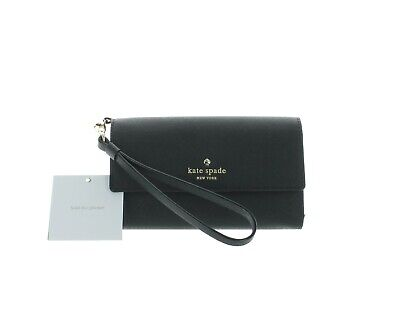 $ CDN130 • Buy Kate Spade New York Saffiano Leather Wristlet Wallet For IPhone 7/8 - Black