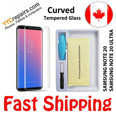 $ CDN12.99 • Buy Samsung Galaxy Note 20 UV Nano 3D Curved 9H Tempered Glass Screen Protector