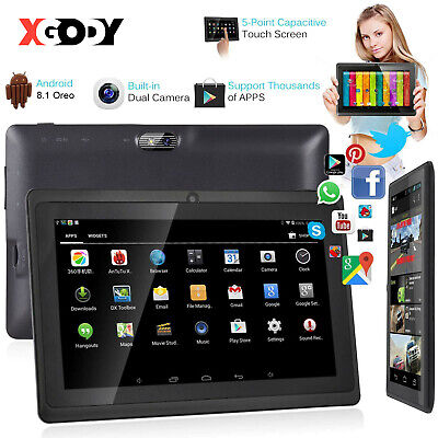 £42.99 • Buy Android Tablet 7 Inch 16GB HD Quad Core Dual Camera Bluetooth WiFi Kids Tablets
