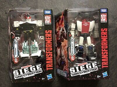 Transformers War For Cybertron Siege Voyager Prowl & Red Alert • 60.88£