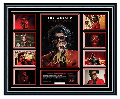 AU99.99 • Buy The Weeknd 2020 After Hours Starboy Signed Limited Edition Framed Memorabilia