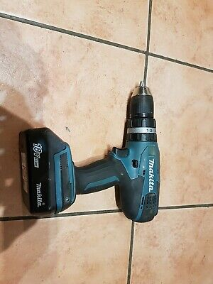 MAKITA HP457D CORDLESS COMBI DRILL G Series 18V With Battery BL1813G 1.3Ah. • 53£