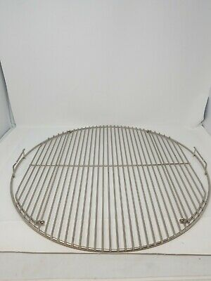 $ CDN31.72 • Buy Grill Cooking Grate 21.5 Inch Round Grid Rack Replacement Steel BBQ Grid Weber