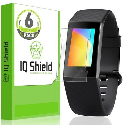 $ CDN10.28 • Buy 6x IQ Shield LIQuidSkin Clear Screen Protector For Fitbit Charge 3 (Version 2)