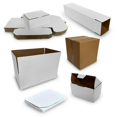 AU16.90 • Buy 10x Mailing Box Cardboard Shipping Packing Mailer Parcel Boxes Small Medium Larg