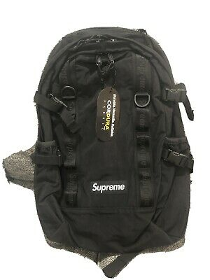$ CDN241.32 • Buy Supreme Backpack FW20 Black - DS - 100% Authentic -Ready To Ship
