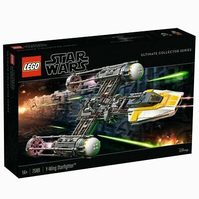 AU498.99 • Buy LEGO 75181 UCS Y-wing Starfighter Ultimate Collector Series (Brand New Sealed)