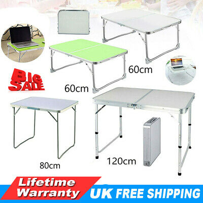 £24.70 • Buy Aluminum Folding Portable Small Desk Outdoor Picnic Camping Table Laptop PC Desk