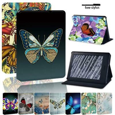 Butterfly Leather Stand Cover Case For Amazon Kindle 8/10th Paperwhite 1/2/3/4 • 7.99£