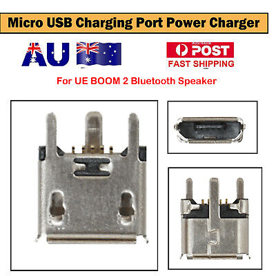 AU15.98 • Buy Micro USB Charging Port Power Charger For UE BOOM 2 Bluetooth Speaker Accessory