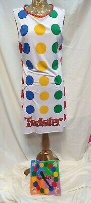 £18 • Buy Ladies 1980's Twister Game Fancy Dress Costume Retro Womens Outfit  Size Medium