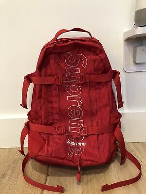 $ CDN435.68 • Buy Supreme FW18 Backpack - Red - Never Used