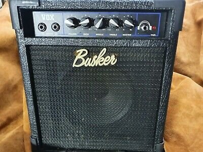 $ CDN206.68 • Buy Vox Busker Amp Amplifier Vintage Battery Powered 220 Volt