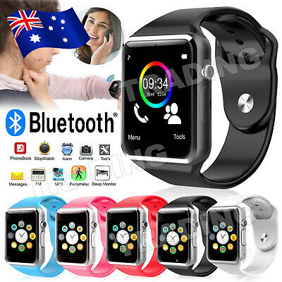 AU19.80 • Buy A1 Bluetooth Smart Watch For Android IPhone Samsung Kids Tracker Camera AU