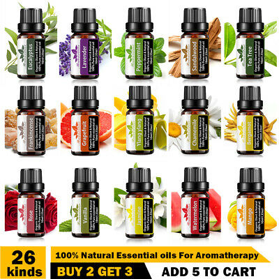 AU12.78 • Buy Essential Oil 100% Pure & Natural Aromatherapy Diffuser Fragrance Oils Aroma