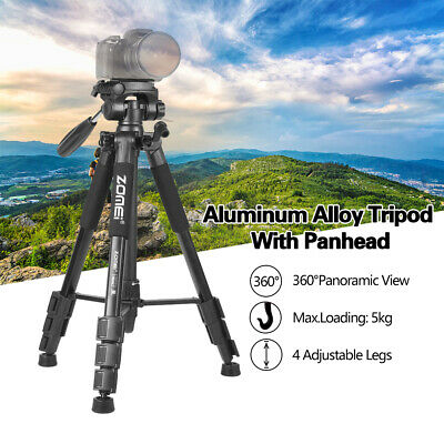 AU35.99 • Buy ZOMEI Q111 Lightweight Aluminum Tripod Travel Tripod For DSLR Camera Cell Phone