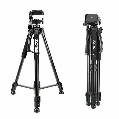 AU33.99 • Buy ZOMEI Portable Travel Tripod Stand Pan Head For Canon Nikon Sony DSLR Camera DV