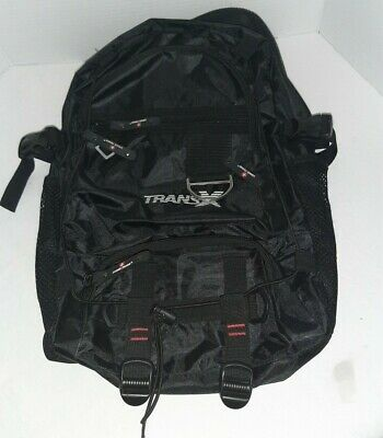 Swiss Force Black Backpack Like New Condition Trans X Logo  • 9£