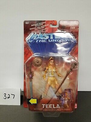 $50 • Buy NEW He-Man And The Masters Of The Universe Teela MOSC MOTU 2002 200x