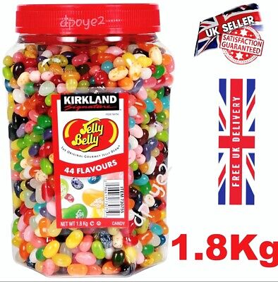 £26.99 • Buy Kirkland Jelly Belly Gourmet Jelly Beans Sweet 44 Delicious Flavours Up To 1.8kg