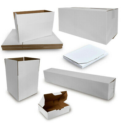 AU42.45 • Buy 50x Mailing Box Cardboard Shipping Packing Mailer Parcel Boxes Small Medium