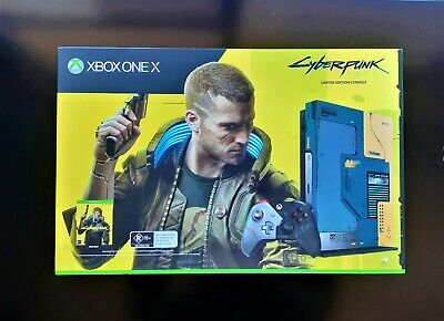 AU677 • Buy XBOX ONE X CYBERPUNK 2077 Limited Edition Console Microsoft NEW 1TB