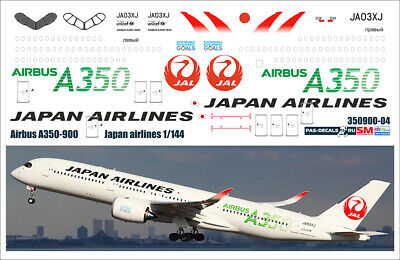 1/144 PAS-DECALS. ZVEZDA. REVELL  Airbus A350-900 Japan Airlines • 9.30£