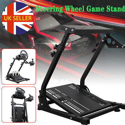 Racing Simulator Steering Wheel Stand Game Stand For G27 G29 PS4 G920 T300RS UK • 42.98£