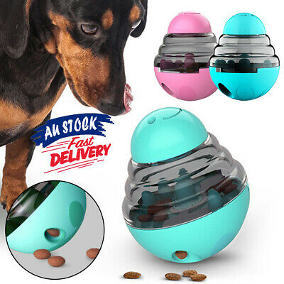 AU17.32 • Buy Treat Ball  Dispensing Toy Interactive Food Pet Dog Food Feed Puppy IQ Test