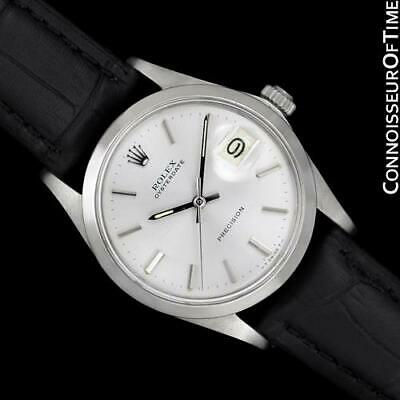$ CDN3948.01 • Buy 1971 ROLEX OYSTERDATE Mens Vintage Stainless Steel Watch, $5,995, Mint, Warranty