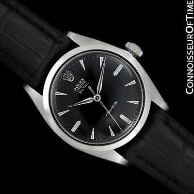 $ CDN3816.19 • Buy 1962 ROLEX OYSTER ROYAL Vintage Mens SS Steel Watch - Mint With Warranty
