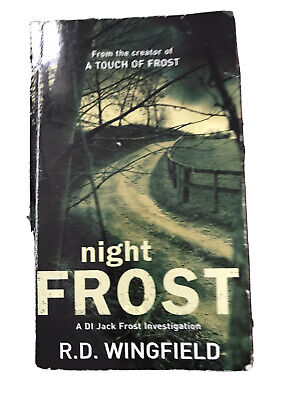Night Frost By R.d Wingfield Paperback Book • 2£