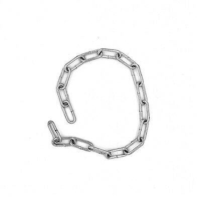 2 Mm Hot Dipped Galvanised Steel Chain Heavy Duty Durable Security Links • 0.99£