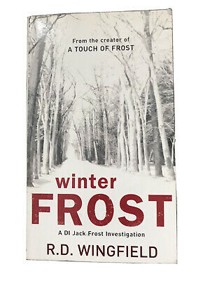 Winter Frost By R.d Wingfield Paperback Book • 2£