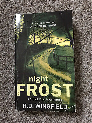 Night Frost  By R.d Wingfield Paperback Book • 1.20£